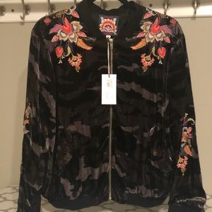 NWT Johnny Was Velvet Bomber